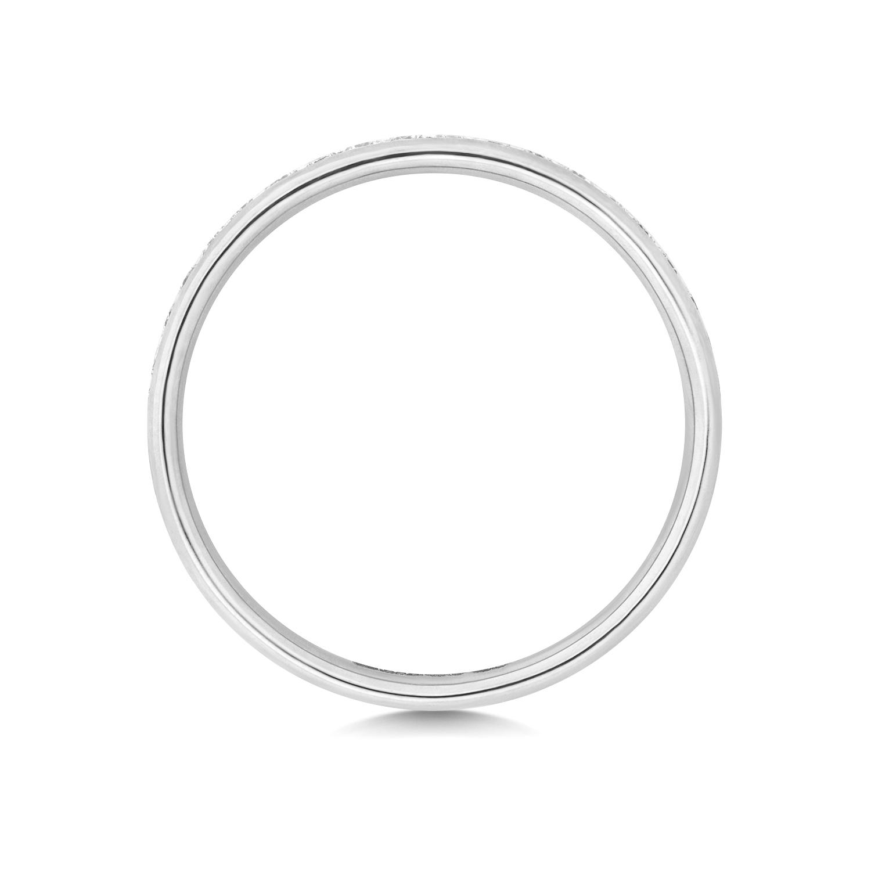 Platinum-18ct-9ct-Carat-White-Yellow-Gold-Eternity-Diamond-Wedding-Band-Ring thumbnail 9
